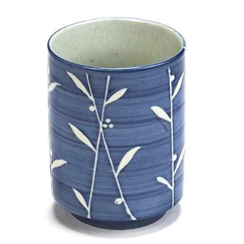 Karakusa Japanese Teacup Mug Blue White – StemFDC5