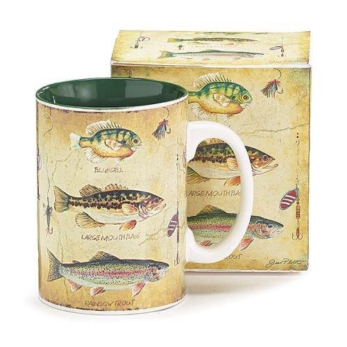 Species of Fish Fishermans Porcelain Coffee Mug