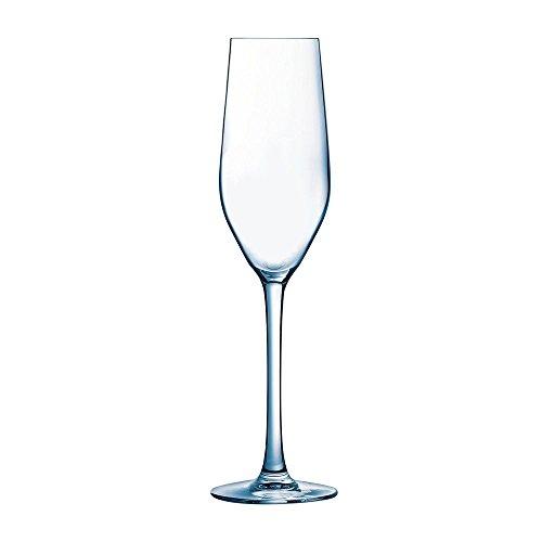 Arcoroc Mineral Flute Glass 5 14 Ounce -- 24 per case