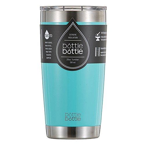 20 oz Stainless Steel Tumbler Vacuum Cup Bottlebottle Insulated Travel Mug Freshing Blue