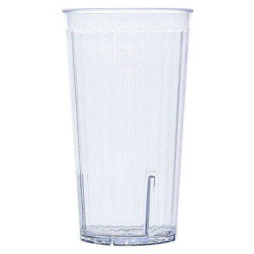 GET Spectrum 22 oz Clear Plastic Tumbler