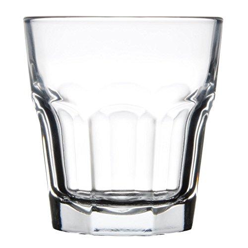 Libbey 15243 Gibraltar DuraTuff 12 oz Double Rocks Glass  SET OF 6 w FDL Party Picks