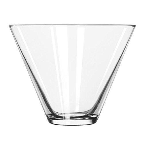 Libbey 224 Stemless 135 Ounce Martini Glass - 12  CS