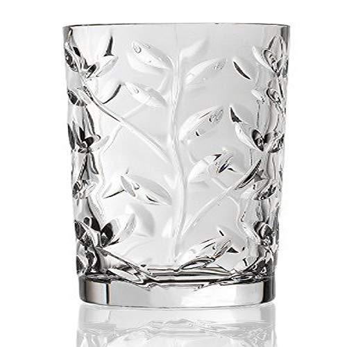 Lorenzo Rcr Crystal Laurus Highball Glass Set of 6