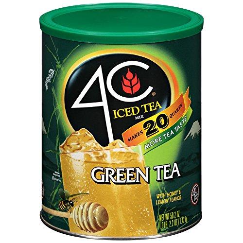 4C Iced Tea Mix Green Tea Antioxidant - 6 Pack