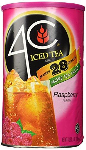 4C Instant Iced Tea Mix Raspberry 703 ounces