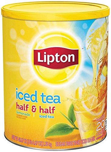 Lipton Iced Tea Mix - Half Half Sweetened - 487 oz