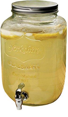 Circleware Yorkshire 2-Gallon Beverage Dispenser Clear
