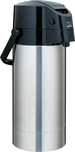 Zojirushi SR-AG38XA Stainless Steel Vacuum Air Pot Beverage Dispenser 1-Gallon  38-Liter