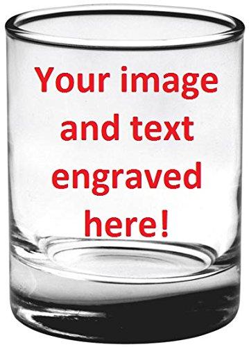 ENGRAVED SHOT GLASS 3 OZ