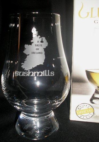 BUSHMILLS A TASTE OF IRELAND GLENCAIRN IRISH WHISKY TASTING GLASS