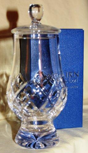 Glencairn Official Glencairn Cut Crystal Scotch Malt Whisky Tasting Glass With Ginger Jar Top