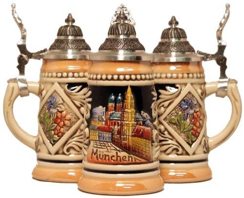 Munich Germany MINI German Beer Stein ONE 116L Miniature Mug Made in Germany