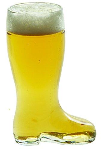 Stolzle Bierstiefel One Liter Glass Beer Boot
