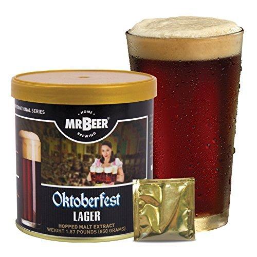 Mr Beer Oktoberfest Lager Homebrewing Craft Beer Refill Kit
