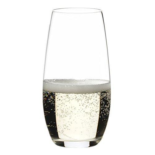 Riedel O Wine Tumbler Champagne Set of 2