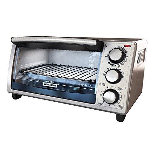 Black & Decker 4-slice Countertop Toaster Oven To1373ssd