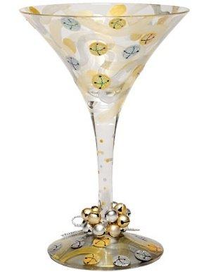 Lolita Holiday 2011 Mini-Tini Ornament Jingle Bells - Wine Martini New Love ORN2-5575K