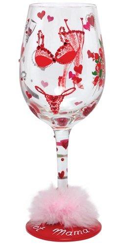 Lolita Wine Glass Hot Momma Valentine - Wine Martini New Love GLS11-5535E