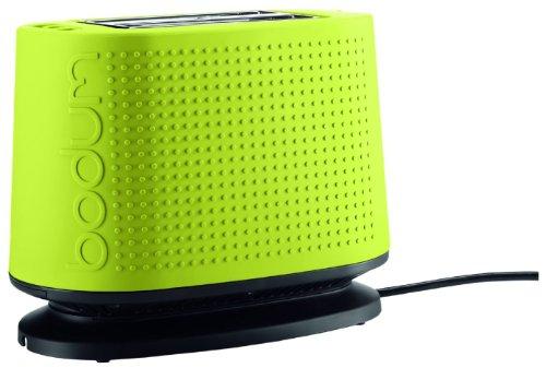Bodum 10709 Bistro 2-slice Toaster W/ Bagel & Bun Warmer