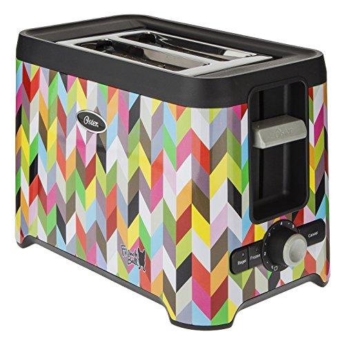 Oster® French Bull 2-slice Extra-wide Slots Defrost Bagel Toaster, Tsstrt2sst-fb