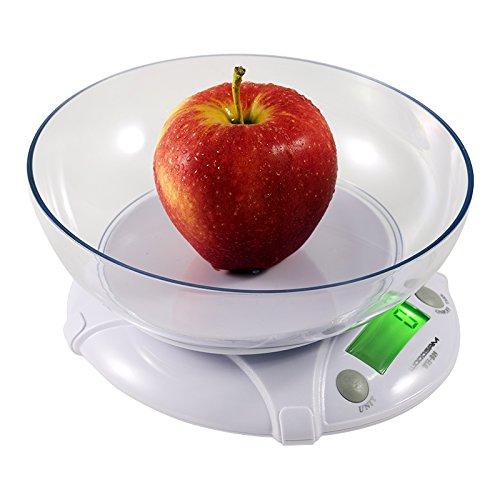 Woodsam (tm) Digital Kitchen Scale 7kg/15lbs X 1g Diet Bake Food Postal Scale W/ Bowl