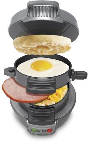 NEW Hamilton Beach 25475A Breakfast Sandwich Maker Kitchen Counter Top Press