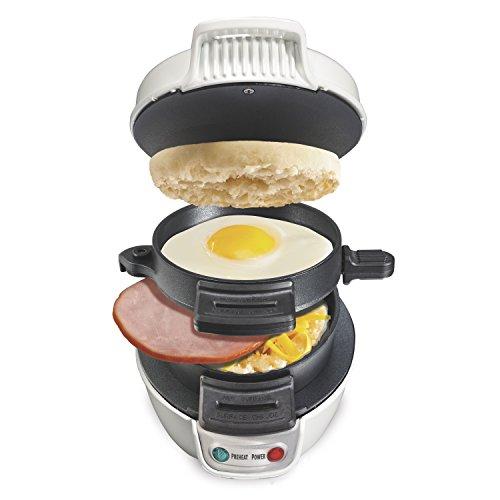 Proctor Silex 25479 Breakfast Sandwich Maker White
