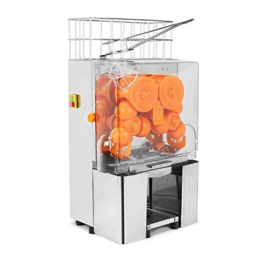 Maxwolf Orange Lemon Squeezer Orange Juicer Juice Extractor Machine Commercial Auto Feed Juicer 20-30 Oranges Per Mins Stainless Steel Tank Stainless Steel Tank