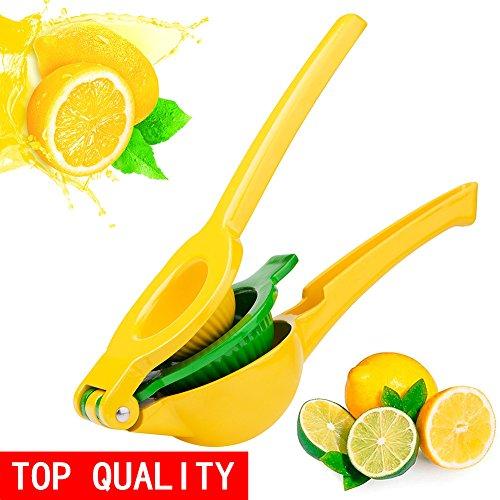 Lemon Squeezer - Kaitsy Premium Quality Metal Citrus Squeezer 2-in-1 Lemon Juicer  Lime Squeezer