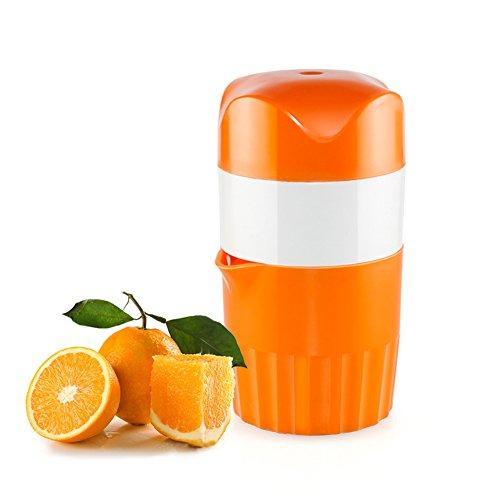 Upintek Lemon Juicer Squeezer Manual Lid Rotation Citrus Juicer Capacity Container 16 ozfor Fruit Orange Citrus Squeezer Juicer
