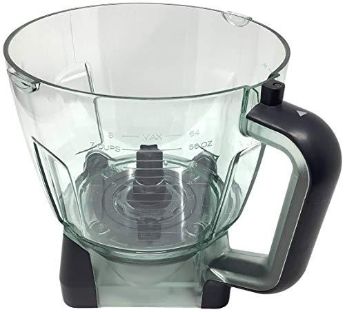 Ninja 64oz 8 Cup Food Processor Bowl for BL770 BL770A BL770W BL771 BL771A BL771C BL772 BL772Q BL780 BL780CO Mega Kitchen System Blender