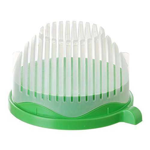 Quick Salad Chopper and Cutter Bowl Easily Chop Lettuce Veggies and Fruits to Make Salads and Other Dishes - Speed Vegetable Slicer and Salad Maker - Kitchen Tools for Chopping Cutting and Slicing