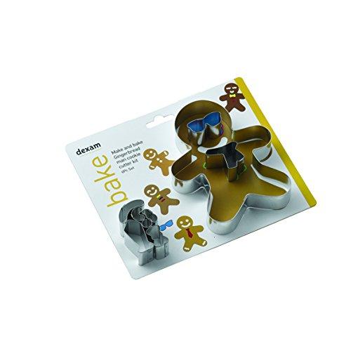 Gingerbread Man Cookie Cutter Kit- 10 Piece Set