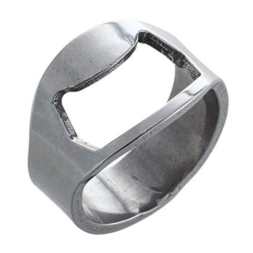 Finger Ring Bottle Opener - 2x Stainless Steel Finger Ring Bottle Opener Beer - Bottle Opener Ring Finger