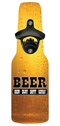 Wicked Eye Bottlebeer1010 Bottle Opener With Magnetic Cap Catcher