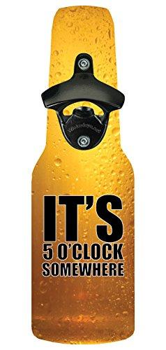 Wicked Eye Bottlebeer1020 Bottle Opener with Magnetic Cap Catcher