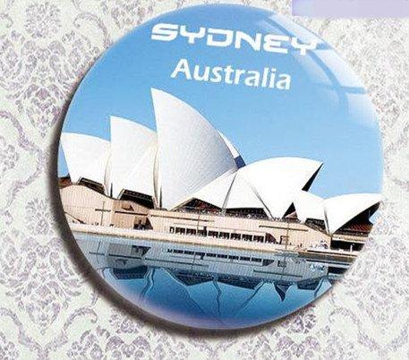 Australian tourism souvenir gifts Refrigerator bottle opener Crystal film Sydney
