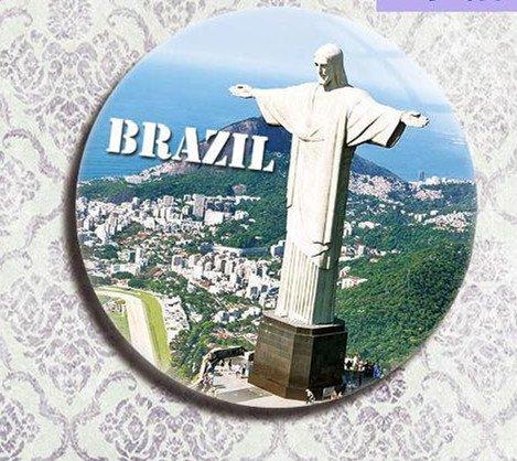 Brazilian tourism souvenir gifts Refrigerator bottle opener Rio DE janeiro Jesus