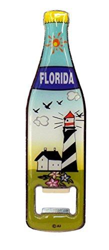 St Augustine Light House - Refrigerator BOTTLE OPENER MAGNET St Augustine Florida Light House