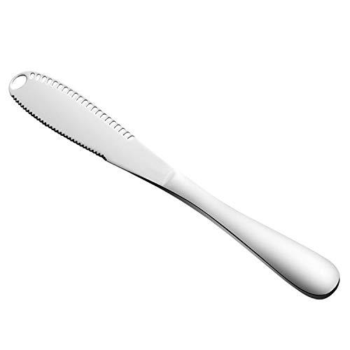 Stainless Steel Butter Knife Spreader Lainrrew 3 in 1 Durable Cheese Slicer Butter Curler Spreader Bread Slicer