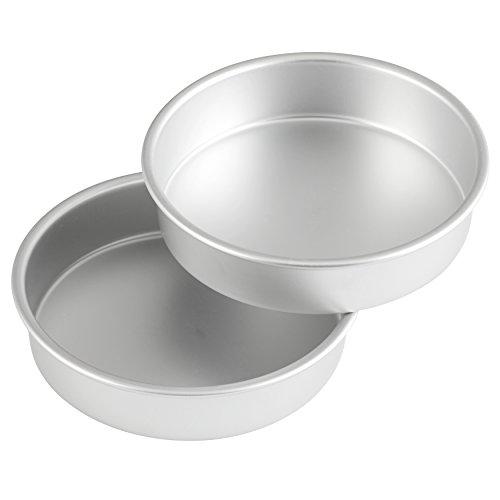 Wilton Performance Aluminum Pan 8-Inch Round Cake Pans Set of 2