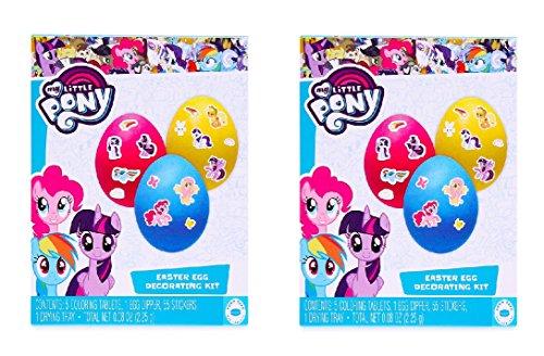 My Little Pony Easter Egg Decorating Kit 2 Pack