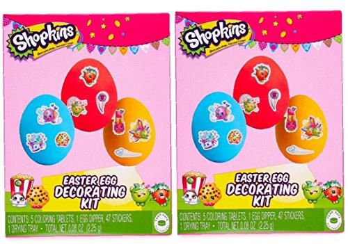 Shopkins Easter Egg Decorating Kit 2 Pack
