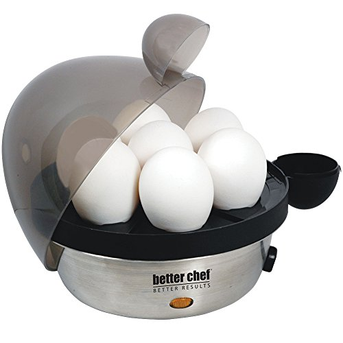 Better Chef 470s Electric Egg Cooker Stainless