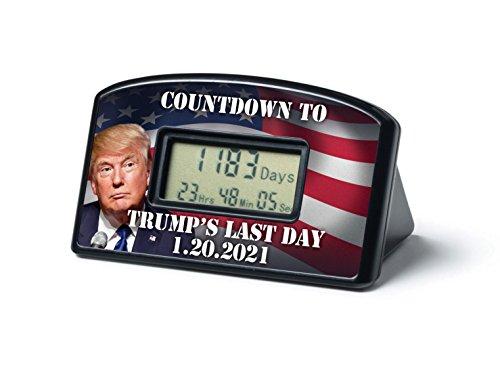 BigMouth Inc Countdown Clock Timer - Trumps Last Day 1-20-21
