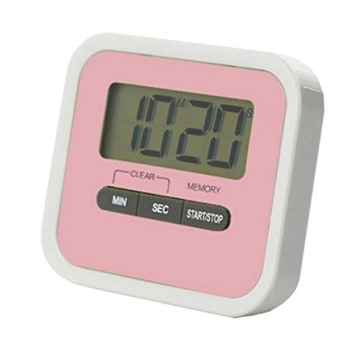 Utility Mini Electronic Digital Timer Kitchen Timer Pink