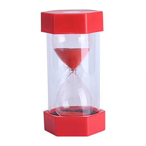 Fdit Hourglass Sand Timer 310203060 Minutes Timer Set Sandglass Timer Romantic Home Office Decor 30 mins Red