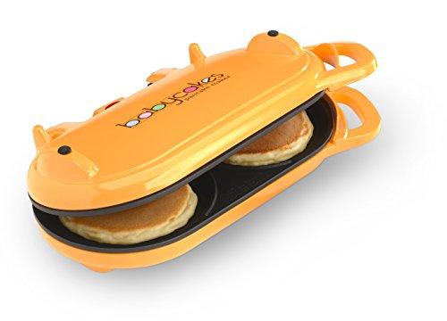 Baby Cakes Flip-over Pancake Maker Orange