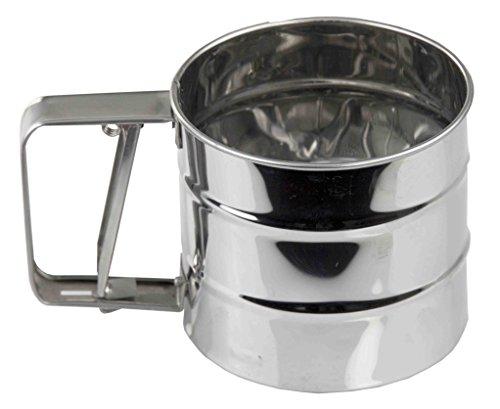 Home Basics KT44292 Stainless Steel Flour Sifter